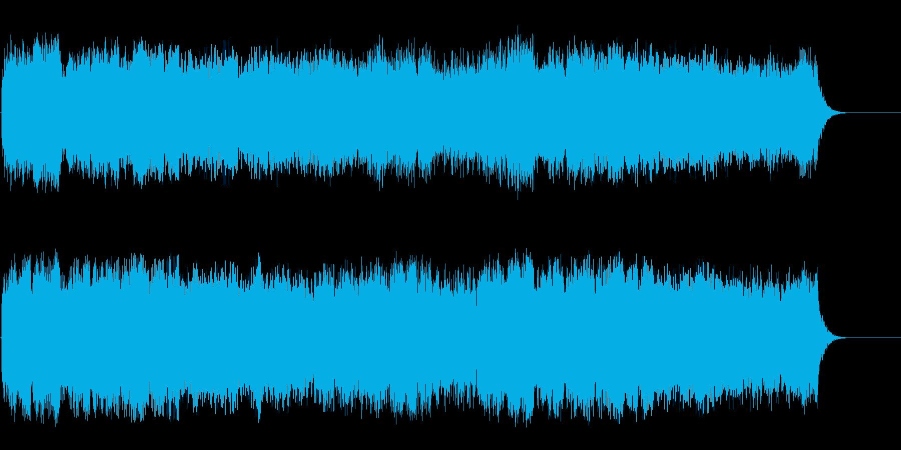 新しい生命の賛美歌風セミクラ/バラードの再生済みの波形