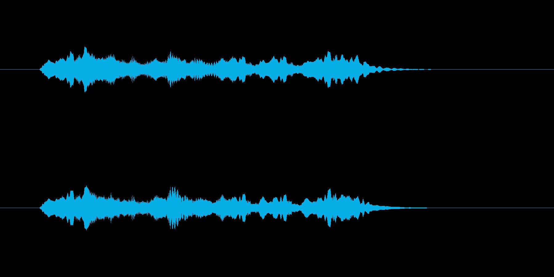 クラシック着信音の再生済みの波形