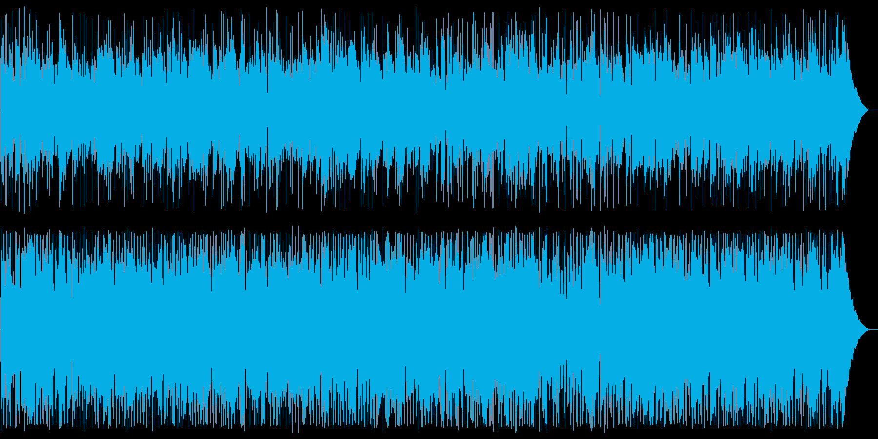 ノクターン ボサノバアレンジの再生済みの波形