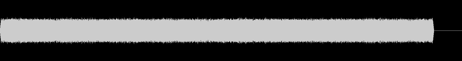 【電子音、アナログ】アラーム音2の未再生の波形