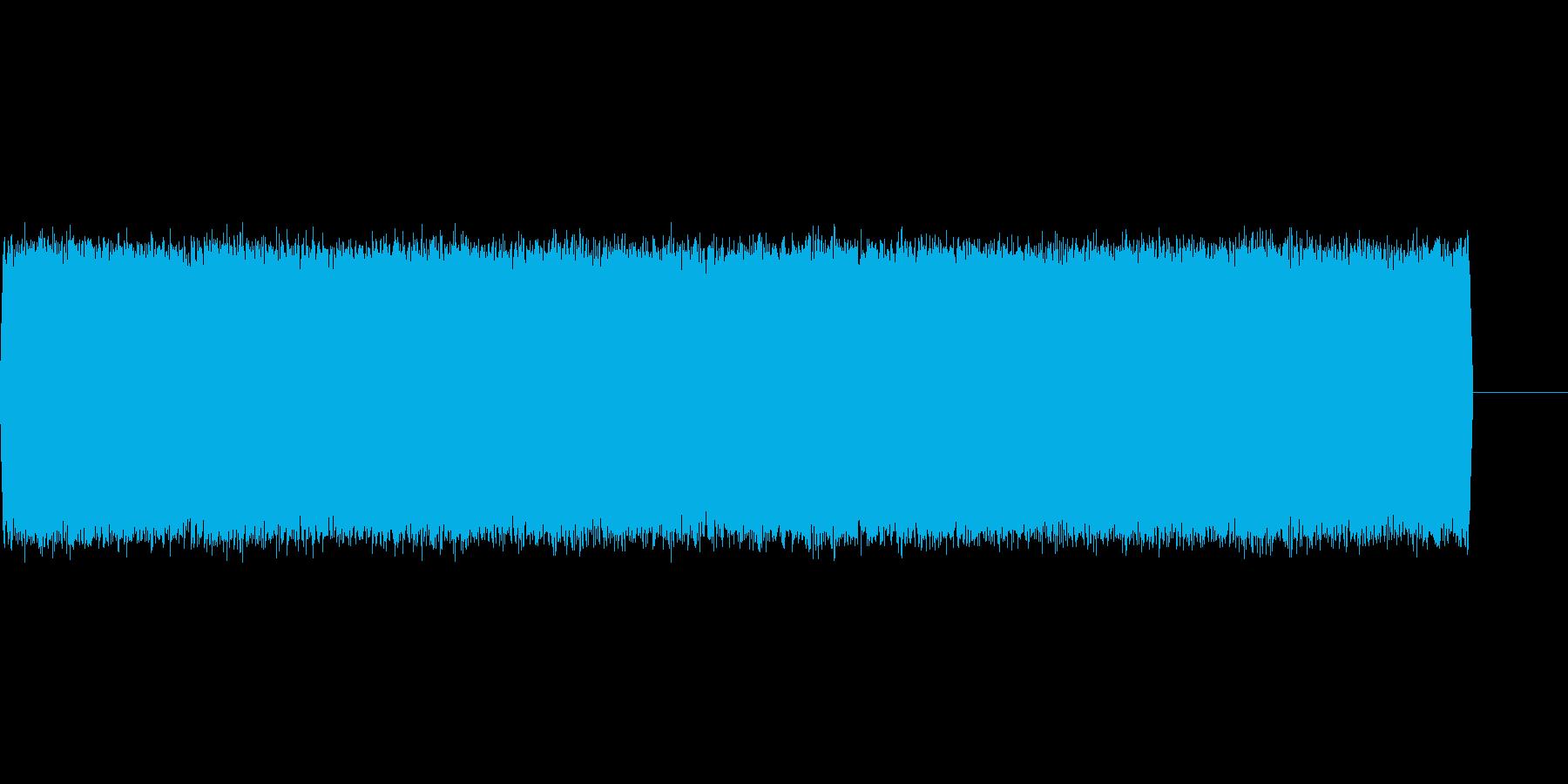 【電子音、アナログ】アラーム音2の再生済みの波形