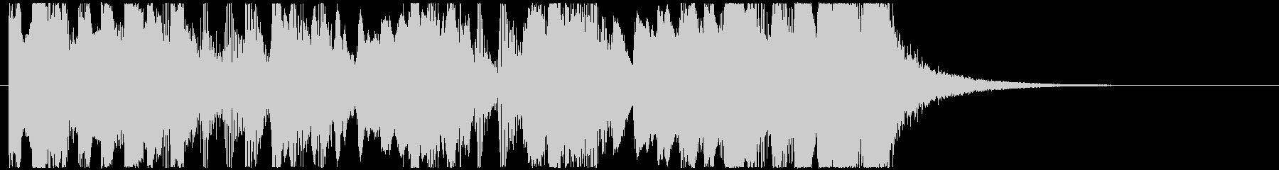CM 変なファンファーレ No1の未再生の波形