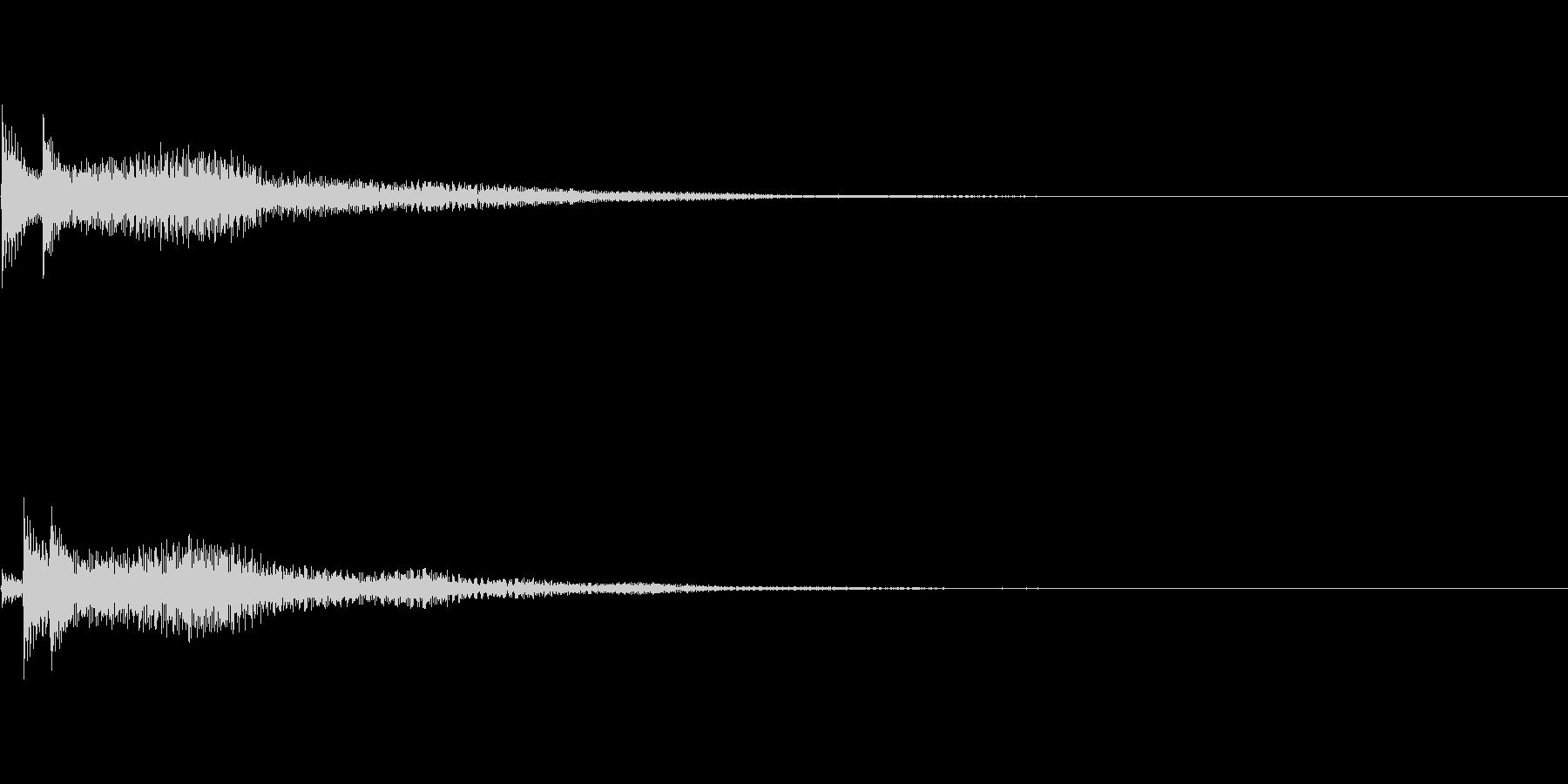 システム音10_シンセDPの未再生の波形