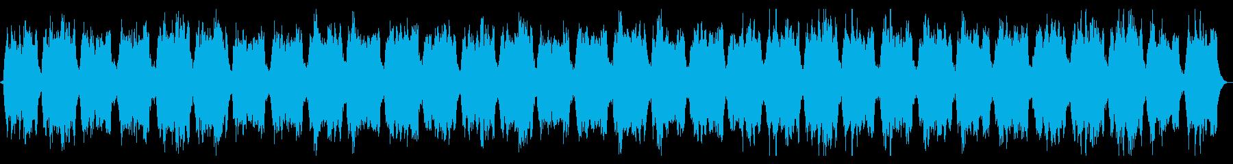 ホラー向け コーラスとストリングスの再生済みの波形