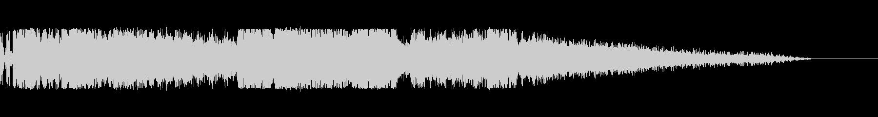 海外のFM番組のジングルっぽいサウンドの未再生の波形
