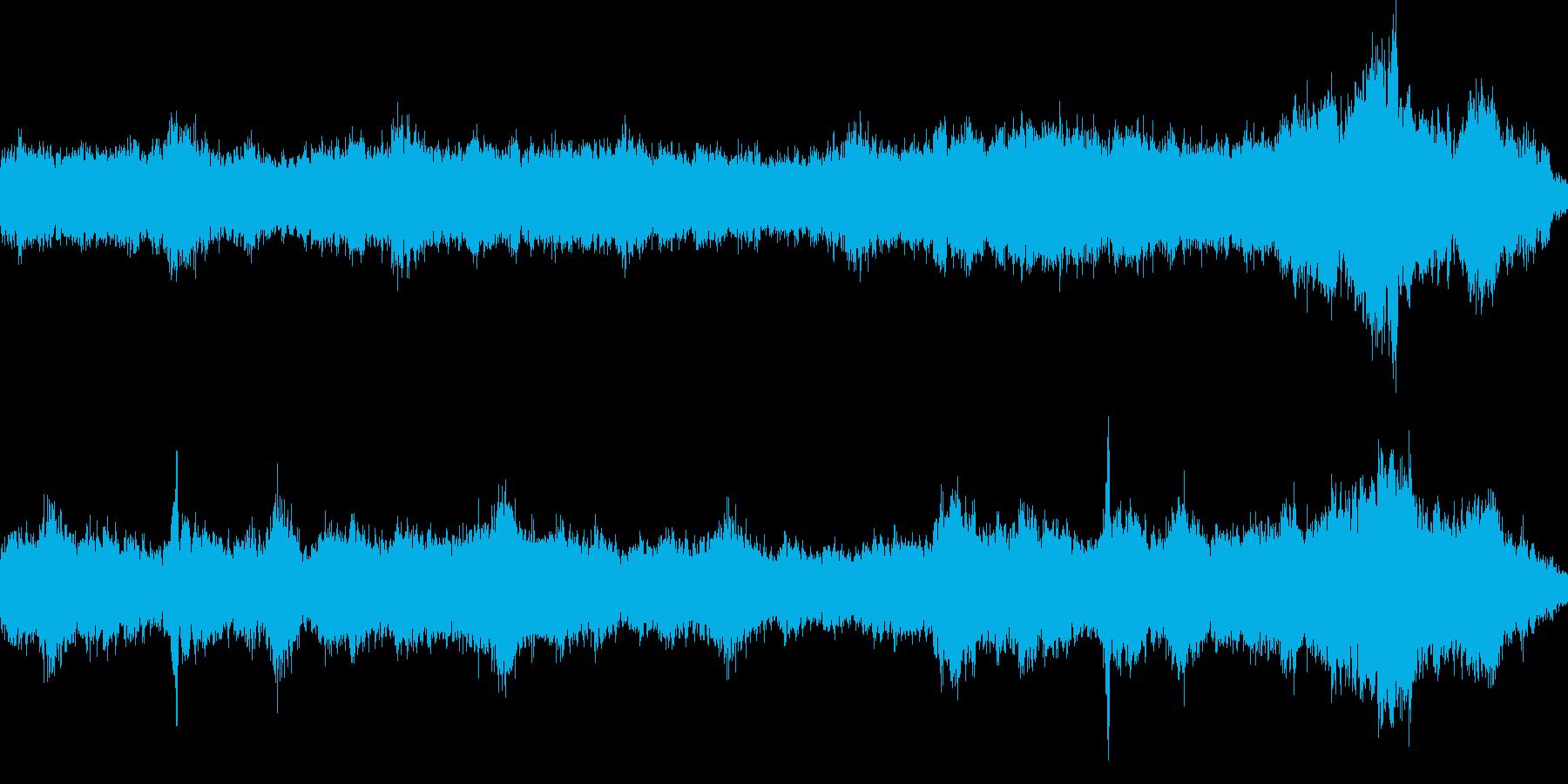 ホラーにも。空気感のあるミステリアスな曲の再生済みの波形