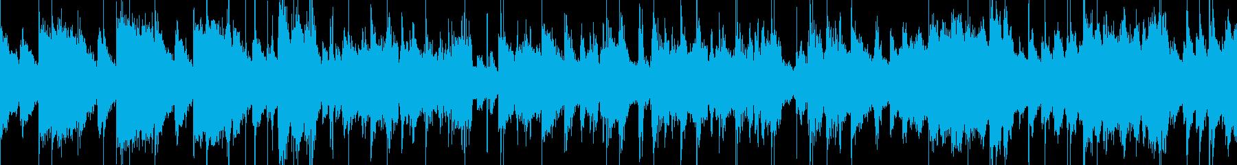 ビッグバンド 風カジノのBGMの再生済みの波形