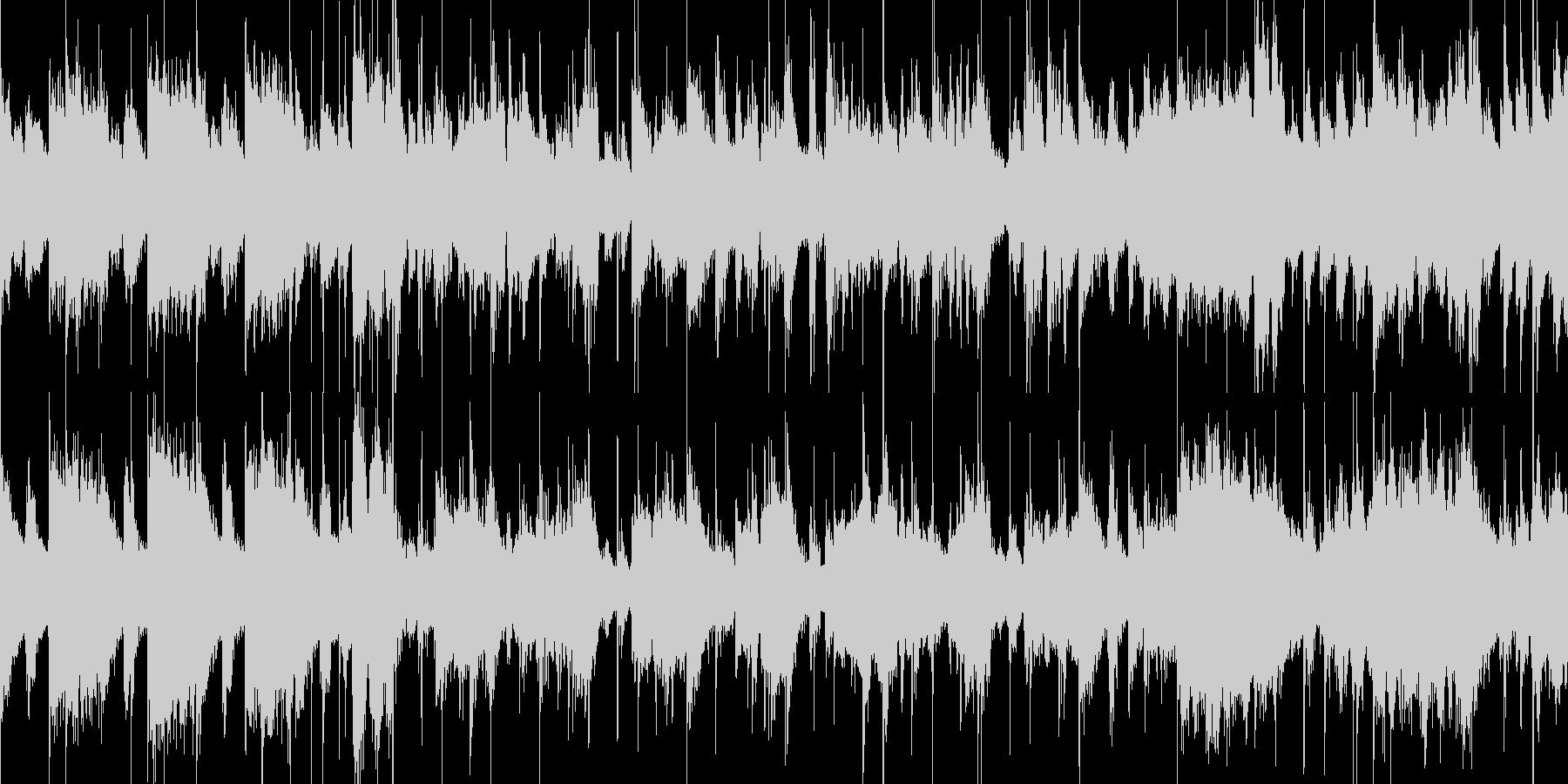ビッグバンド 風カジノのBGMの未再生の波形