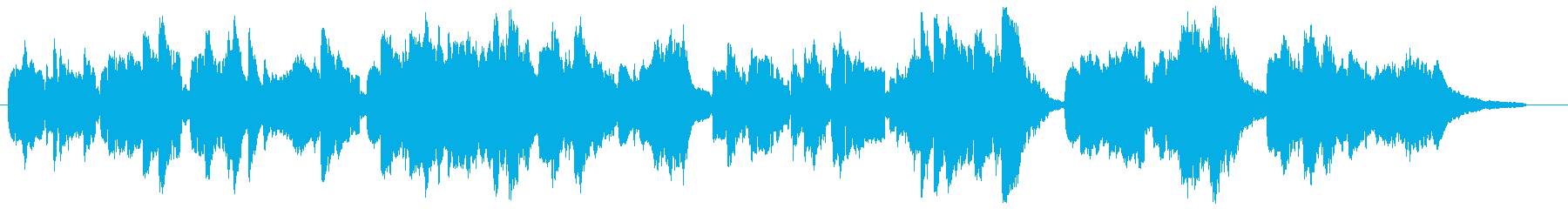 心温まる感動シーン向けピアノ・ケルトの笛の再生済みの波形