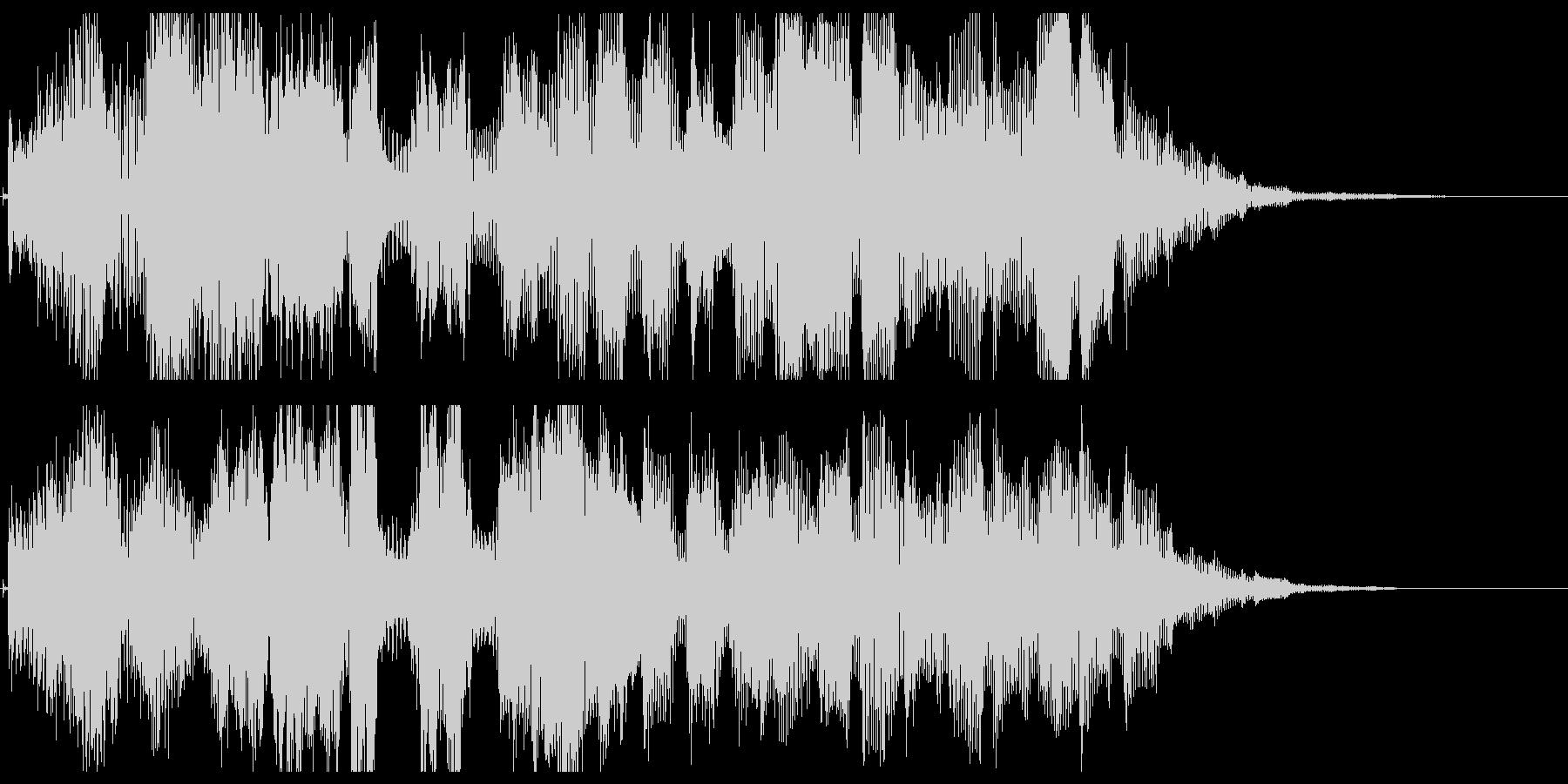 パワーアップ音03の未再生の波形