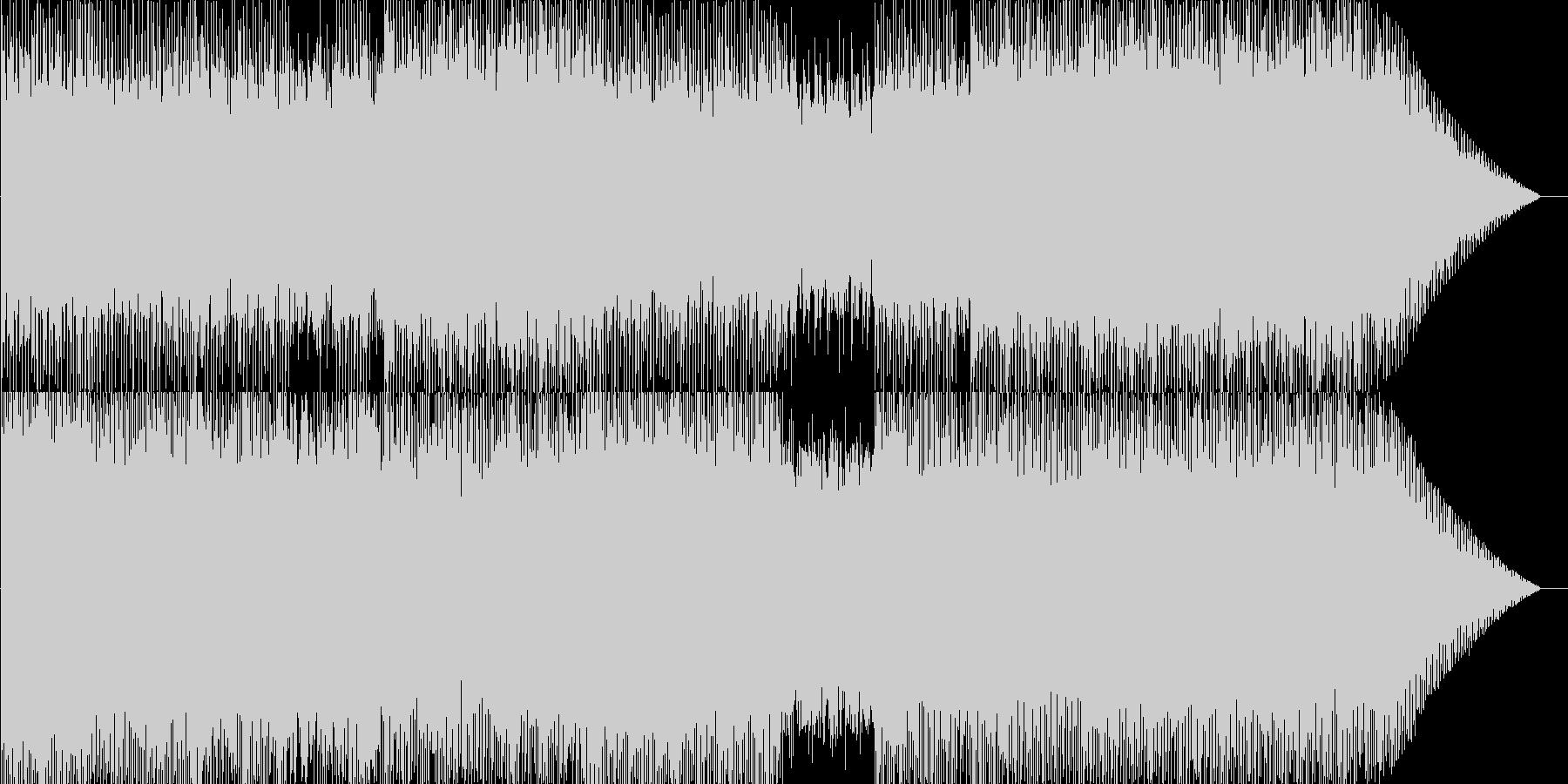 爽やか・明るめ・標準的な戦闘曲の未再生の波形