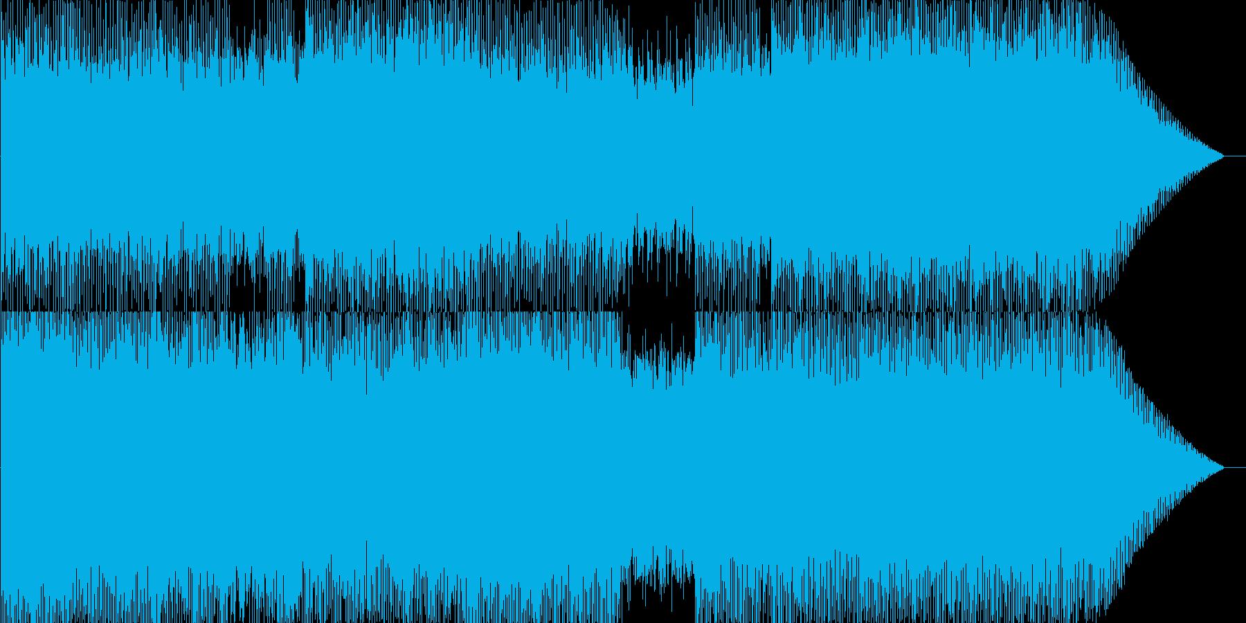 爽やか・明るめ・標準的な戦闘曲の再生済みの波形