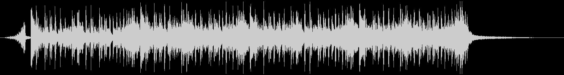 シンキング・タイム(メロディー有り)の未再生の波形