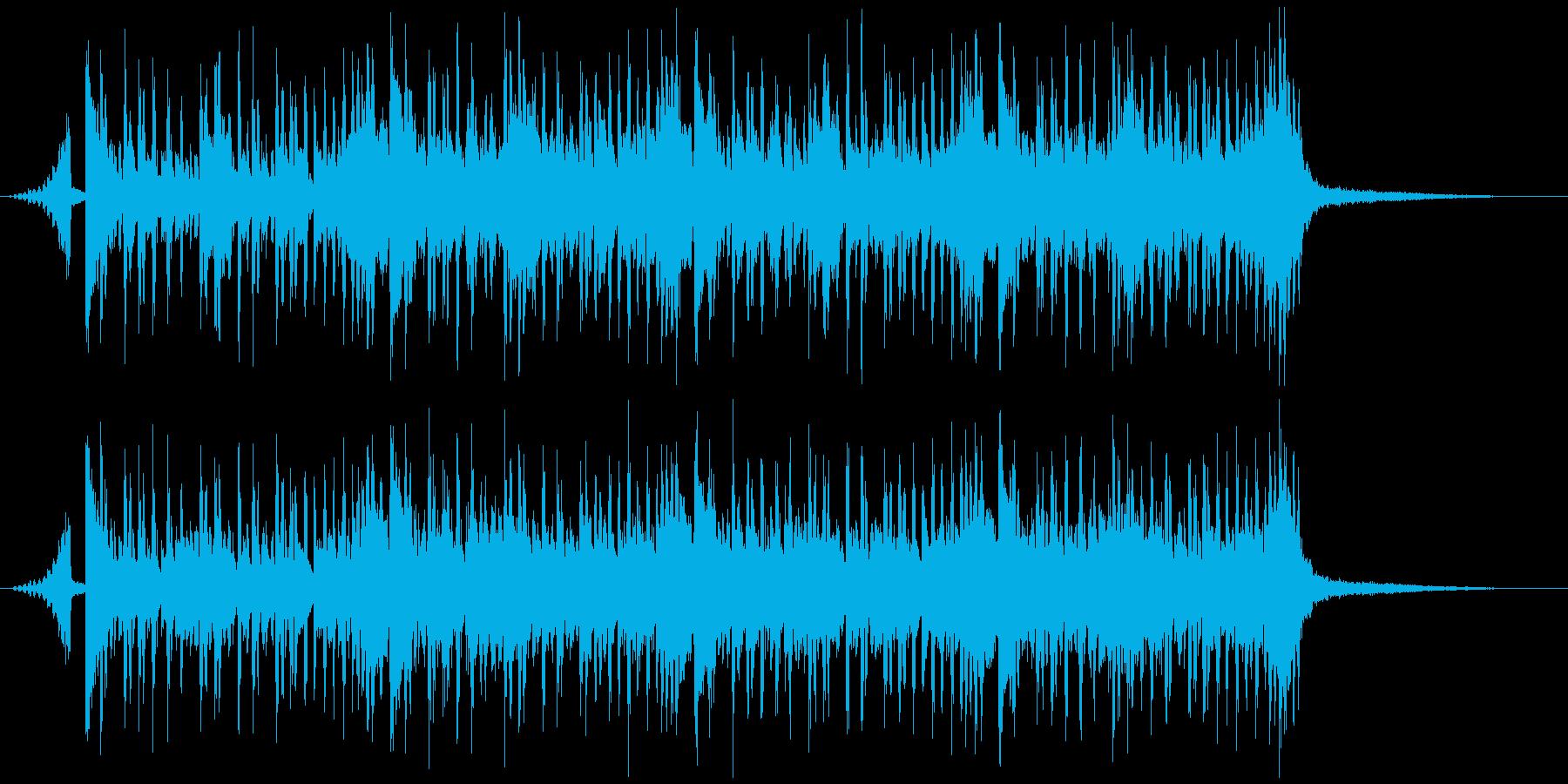 シンキング・タイム(メロディー有り)の再生済みの波形