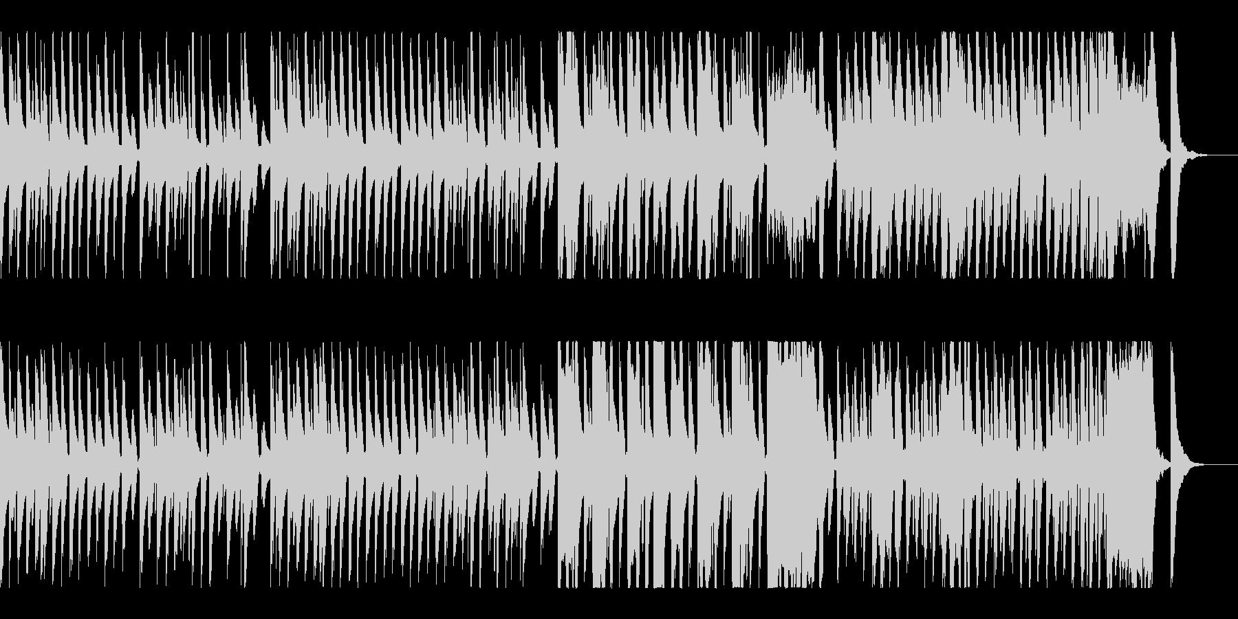 ほのぼのした日常系BGMの未再生の波形