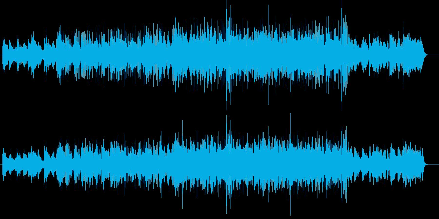 シャッフルするエレガントなフュージョンの再生済みの波形