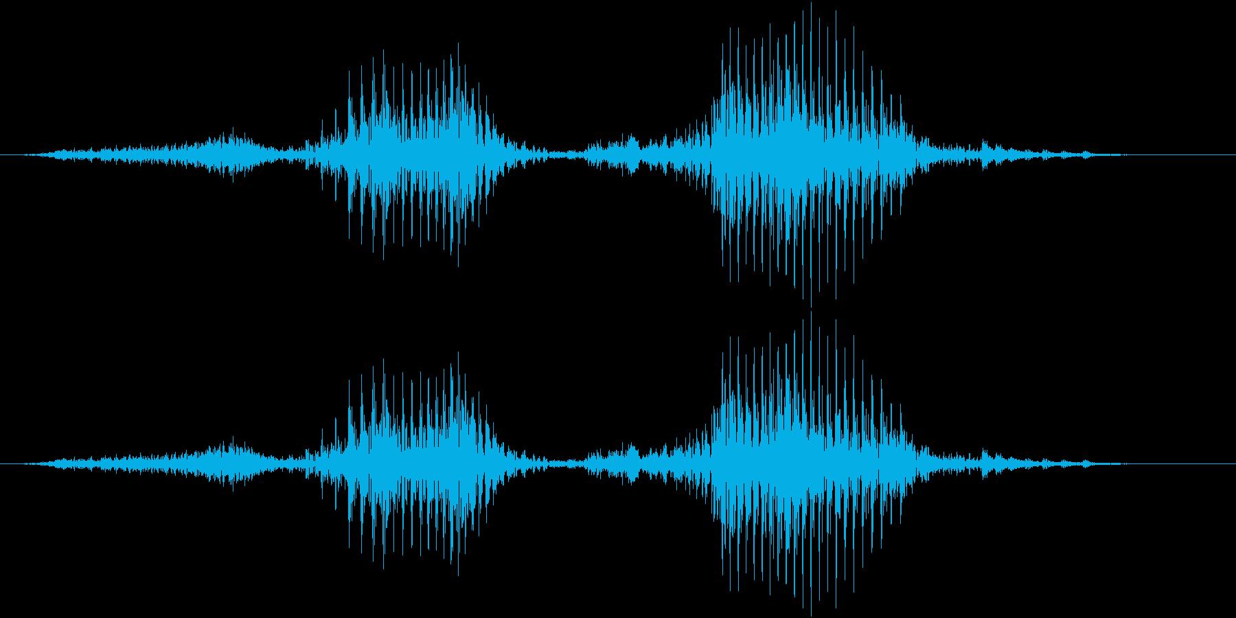 「正解」の再生済みの波形