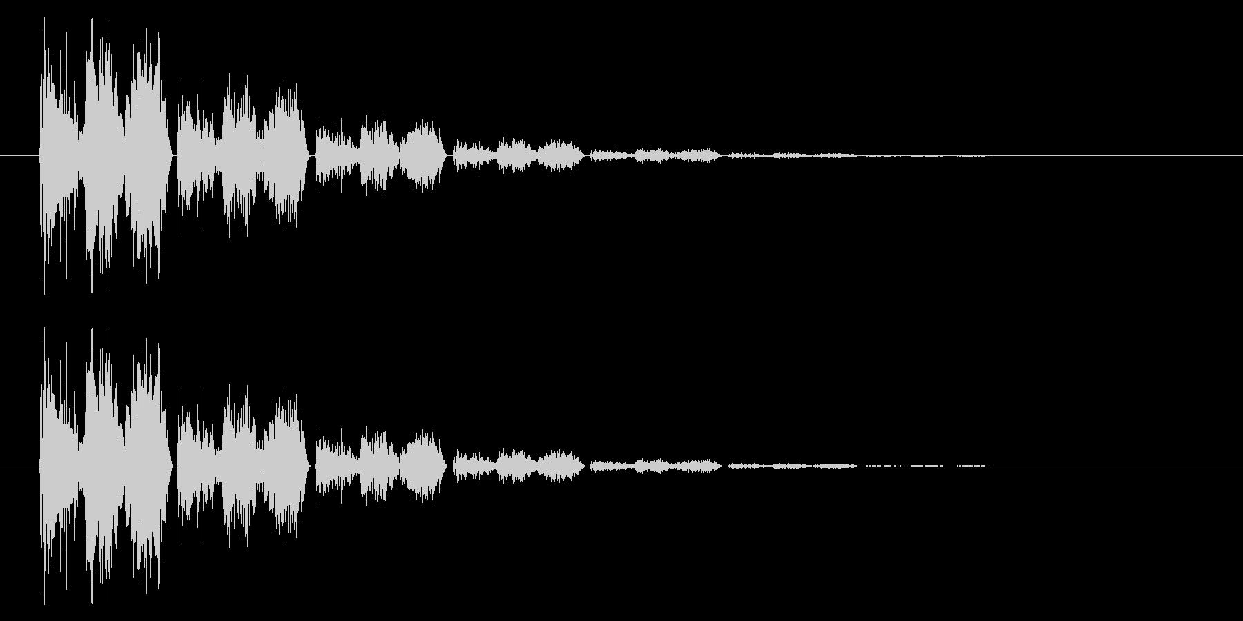 斬る04-4の未再生の波形