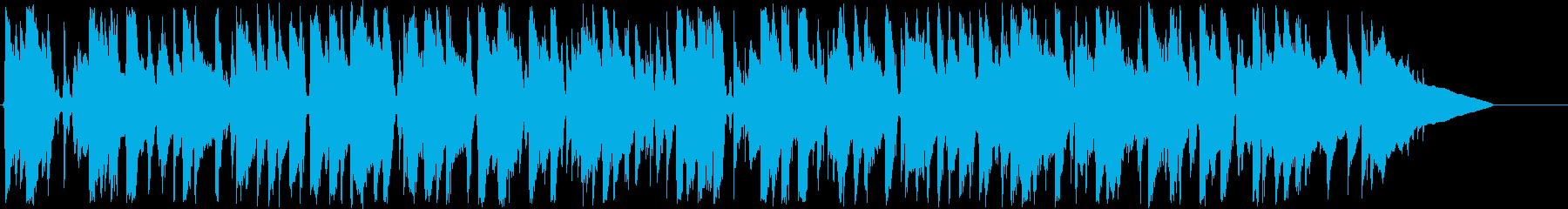アコーステックアンサンブルの休日のひと時の再生済みの波形