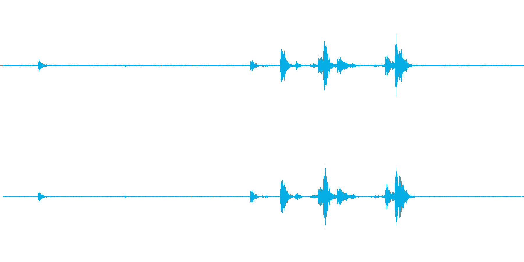 【生音】キッチン・食器・プラスティック…の再生済みの波形