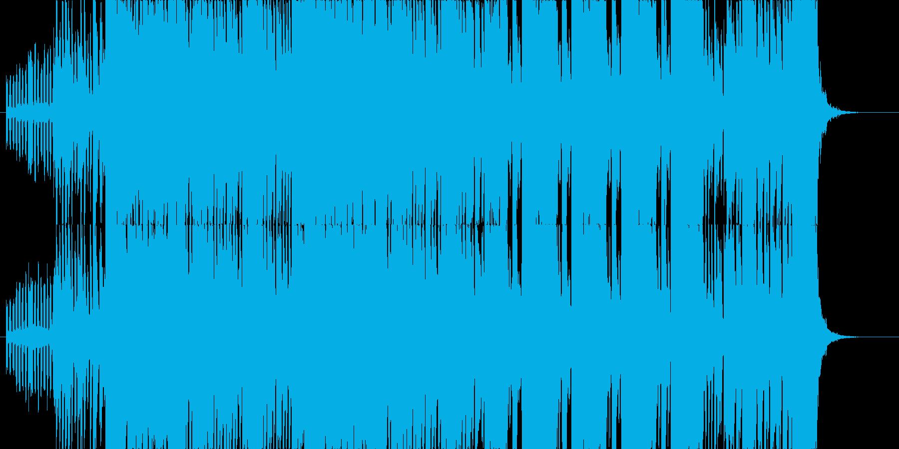 オープニングに使えそうなブラスセクションの再生済みの波形