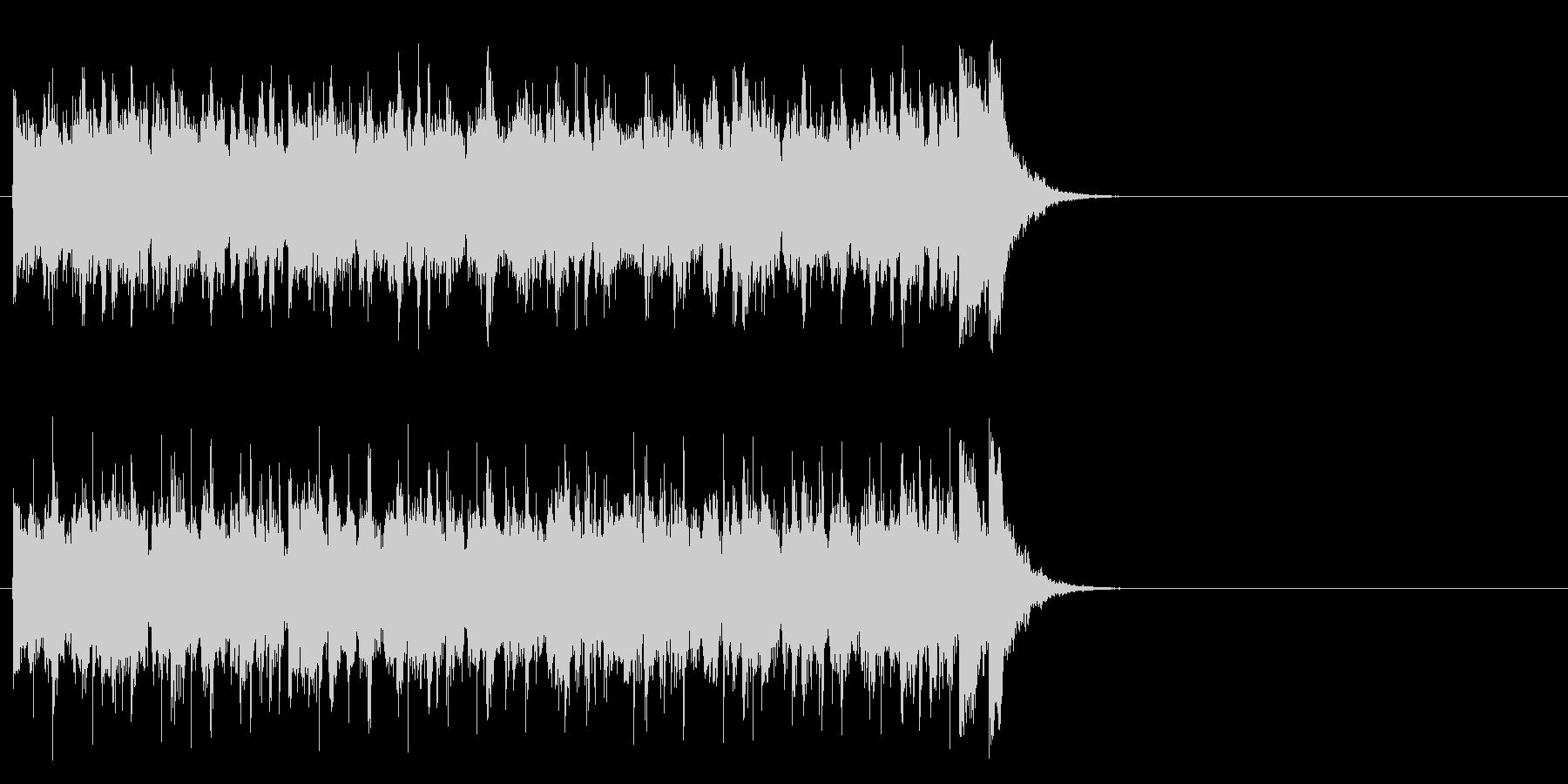 フレッシュ気分のポップ(Aメロ)の未再生の波形
