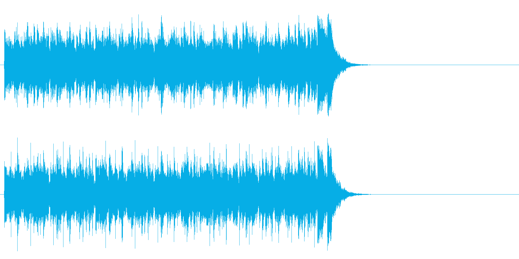 フレッシュ気分のポップ(Aメロ)の再生済みの波形