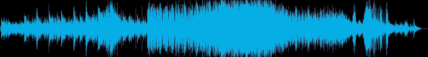 和風楽曲コンテスト「優秀賞」受賞作品の再生済みの波形