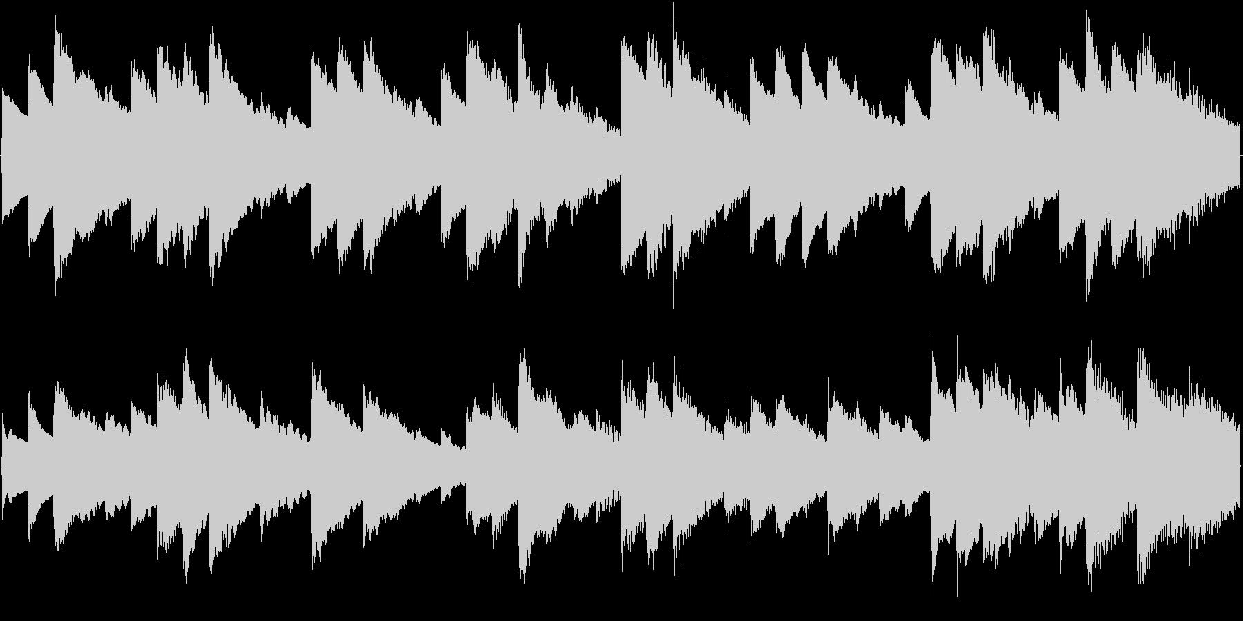オルゴール曲で、着信音に適していますの未再生の波形