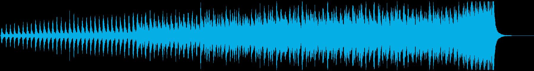 ホラー向け 緊迫感のある怖いストリングスの再生済みの波形