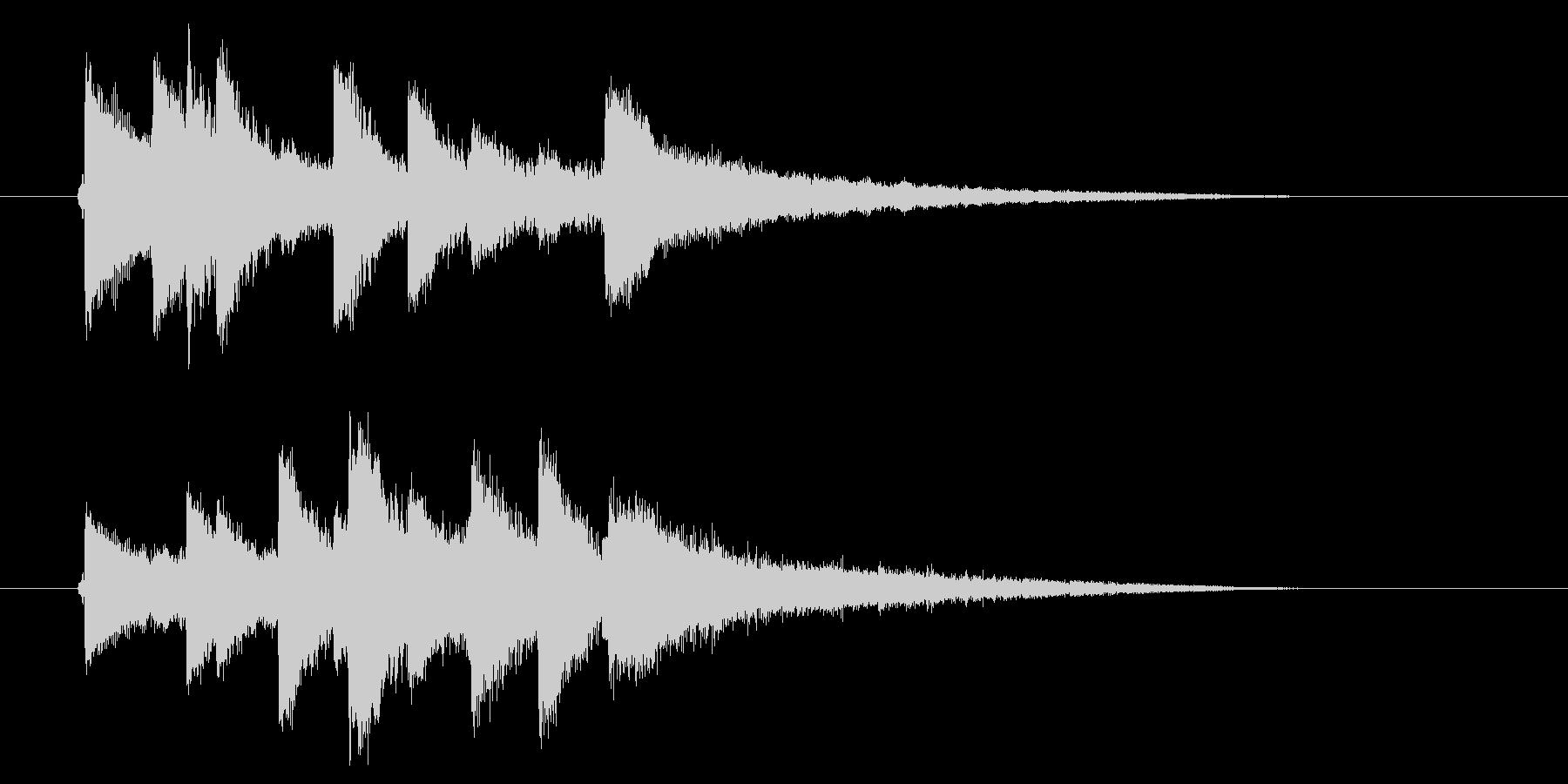 民族音楽風弦楽器サウンド(番組、ゲーム)の未再生の波形