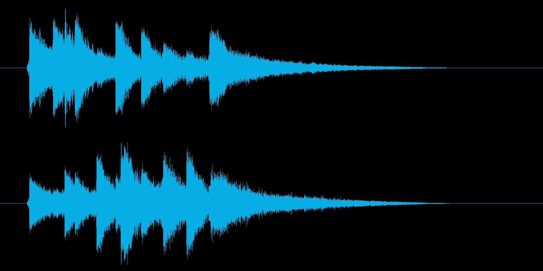 民族音楽風弦楽器サウンド(番組、ゲーム)の再生済みの波形
