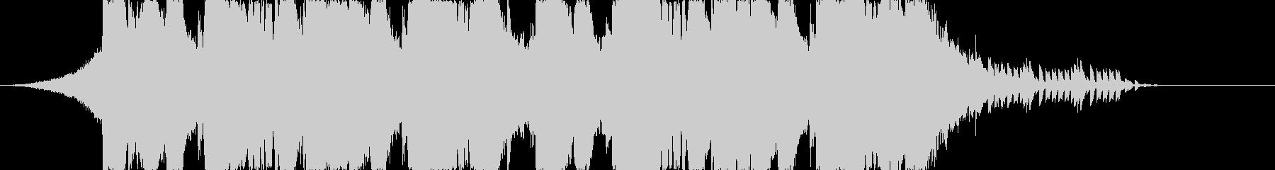 ラウドなダブステップのジングル43秒の未再生の波形
