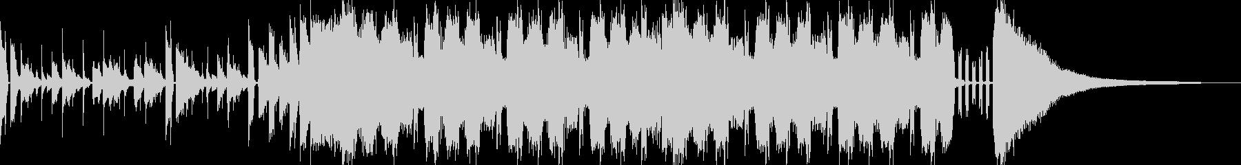 ポップなメタルサウンドの未再生の波形