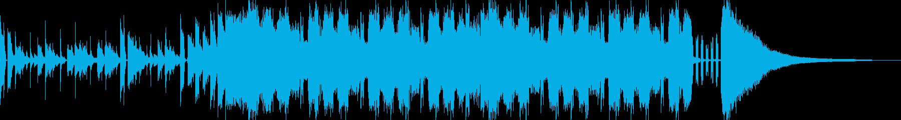 ポップなメタルサウンドの再生済みの波形