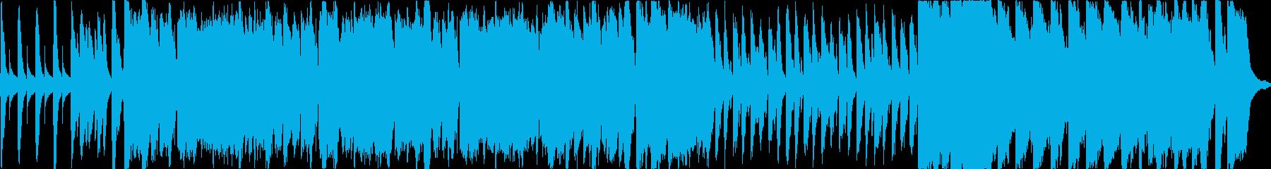 番組OPなどに のほほんとした雰囲気の曲の再生済みの波形