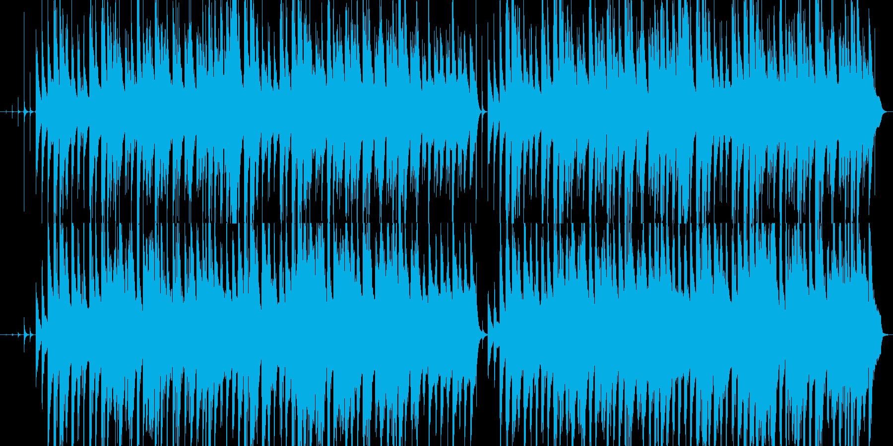 暗く静かで寂しいハープとオルゴールの再生済みの波形