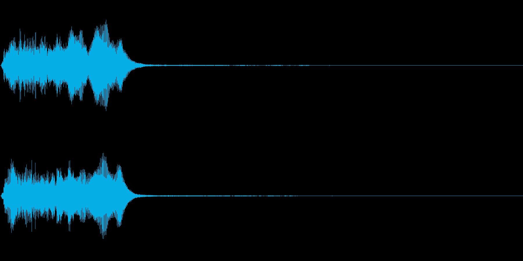 トランペット ファンファーレ 定番 1の再生済みの波形