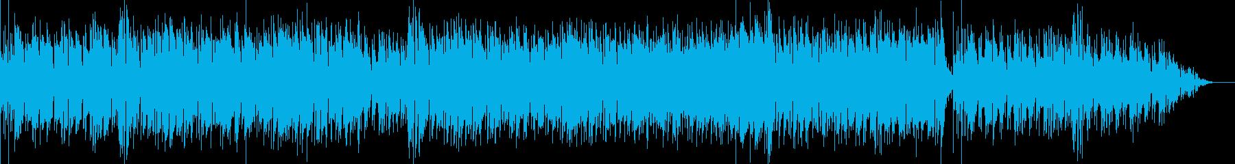 ジャズスタンダード ブラス アップテンポの再生済みの波形