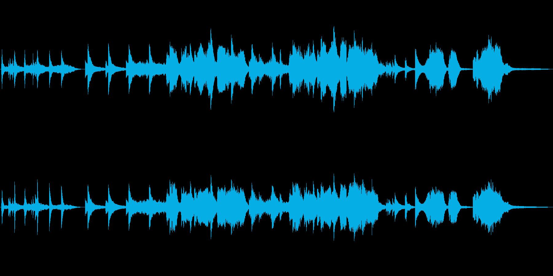 ミステリー:OP・ED用BGM1の再生済みの波形