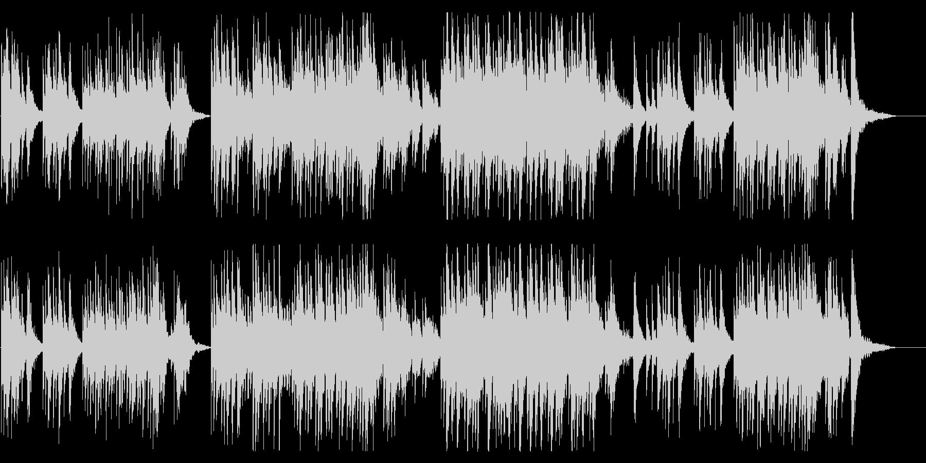 優しく切ないクリスタルオルゴールの未再生の波形