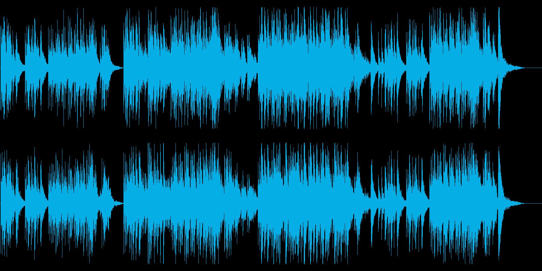 優しく切ないクリスタルオルゴールの再生済みの波形