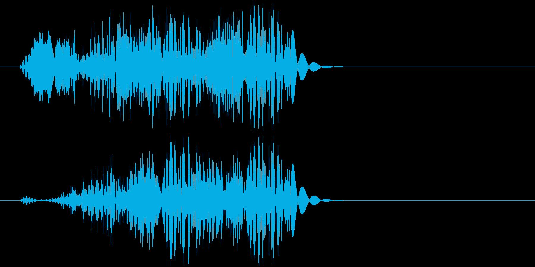 ムチョ(ゲーム、アタック)の再生済みの波形