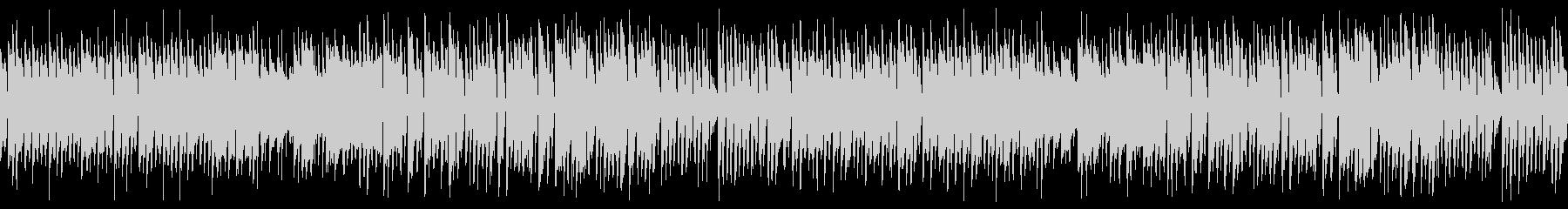 ハロウィン向けポップなホラーループ楽曲の未再生の波形