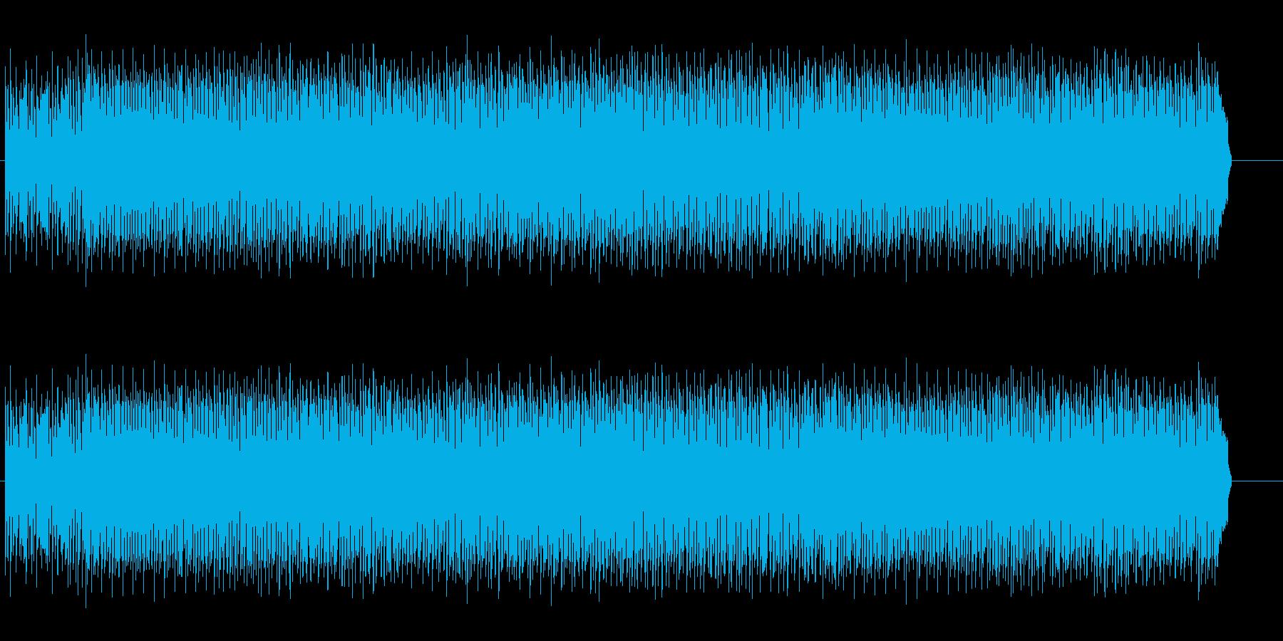 あわてる時の音楽です。の再生済みの波形