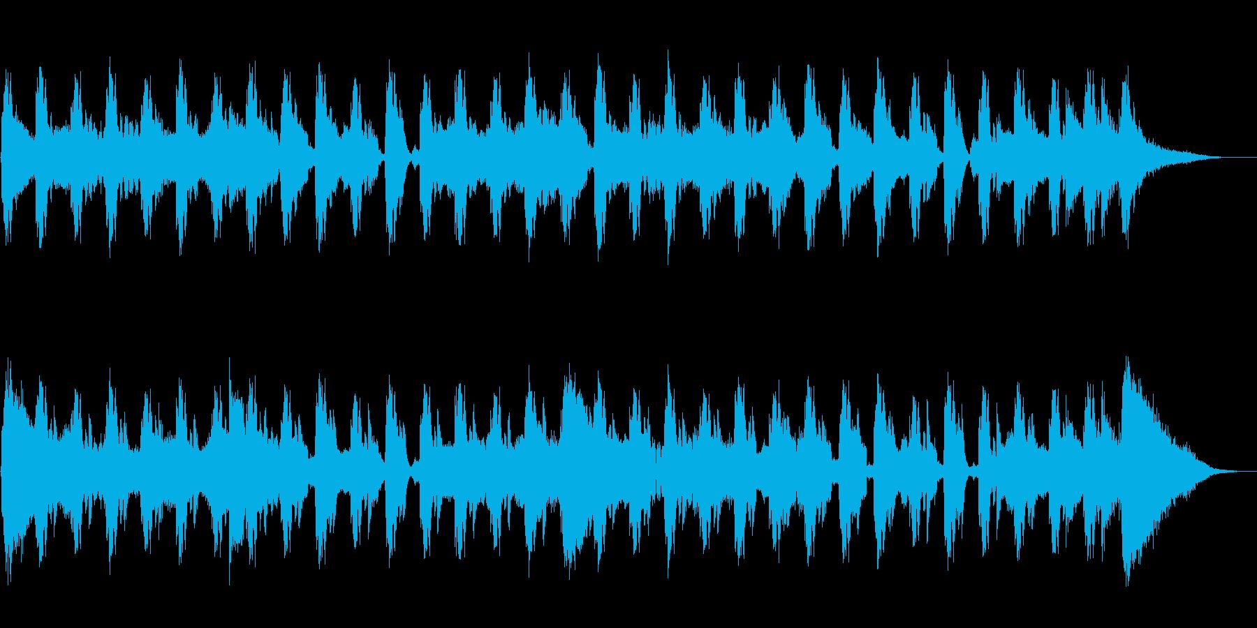 acidなジングルの再生済みの波形