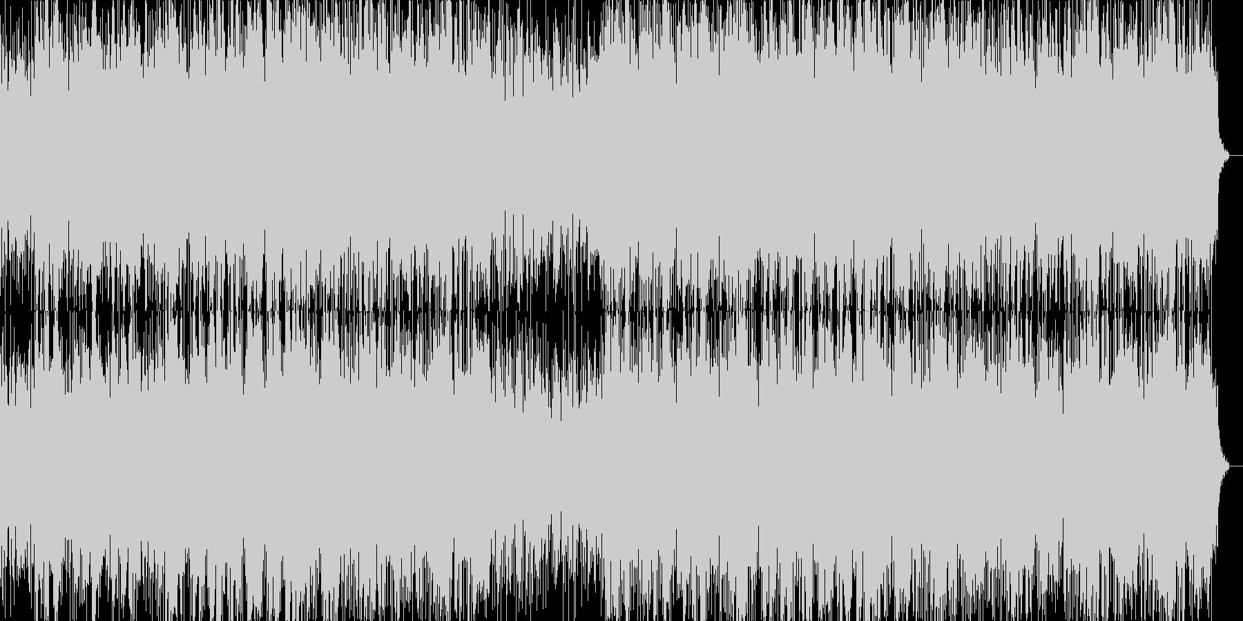 ギターの哀愁感漂うインストゥルメンタル…の未再生の波形