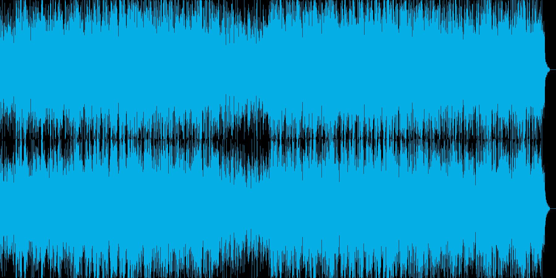 ギターの哀愁感漂うインストゥルメンタル…の再生済みの波形