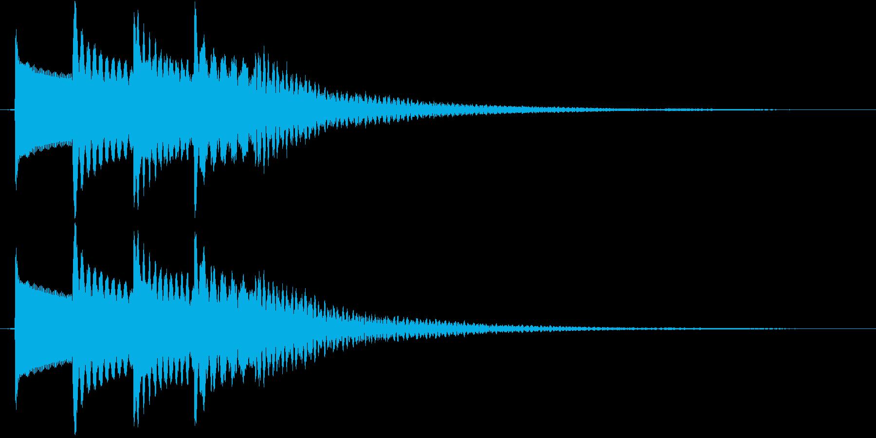 トゥルルルルン♪【オルゴール】流れ星などの再生済みの波形