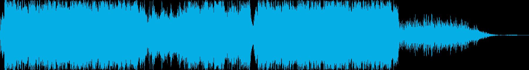 古都の中国を彷彿させる曲(イントロなし)の再生済みの波形